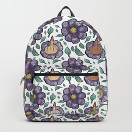 bad flower Backpack