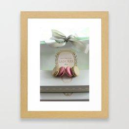 Paris Laduree French Macarons Framed Art Print