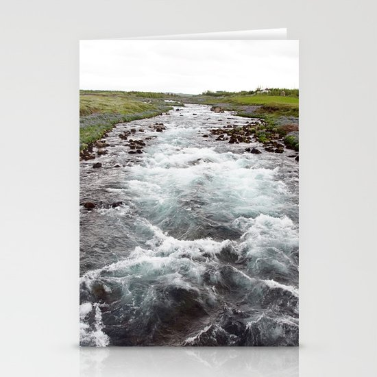 down stream Stationery Cards