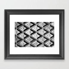 Tiling with pattern 2 Framed Art Print