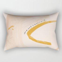 """""""Homecoming"""" Rectangular Pillow"""