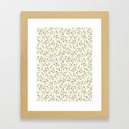 Autumn Branches Framed Art Print