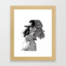 The Witch of Prey Framed Art Print
