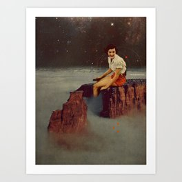 Only Hope Up Here Art Print