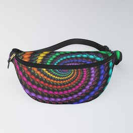 Rainbow Whirlpool Fanny Pack