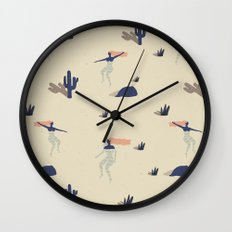 Dezert swim Wall Clock