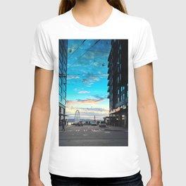 Seattle Summer Sunset T-shirt
