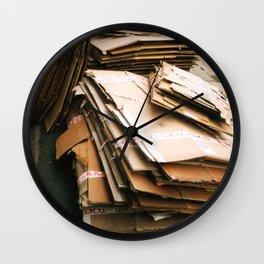 Haphazard Wall Clock
