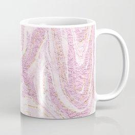 Modern elegant lilac faux gold glitter stylish marble Coffee Mug