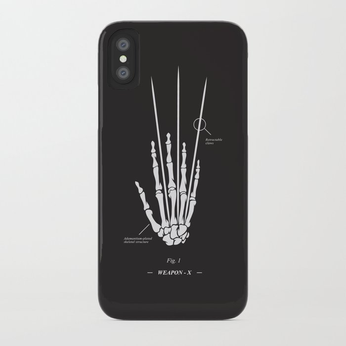 Weapon-X iPhone Case