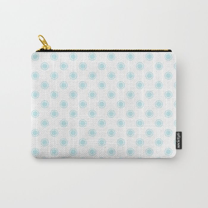 Aqua dots pattern Carry-All Pouch