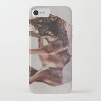 wolf iPhone & iPod Cases featuring Wolf by Andreas Lie