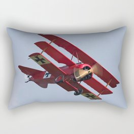 Fokker Dr1 - Red Baron  Triplane Rectangular Pillow