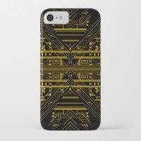 da vinci iPhone & iPod Cases featuring Da Vinci Code by CYRUSCOPE