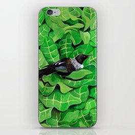 Tui in a Puka iPhone Skin