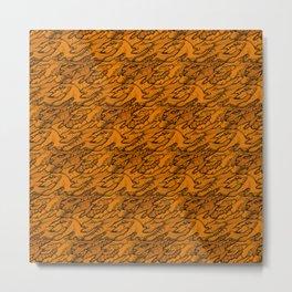 Halloween Monstrum Tessellations Metal Print