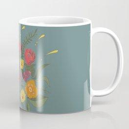 Folk flower arrangement - Spring blue Coffee Mug
