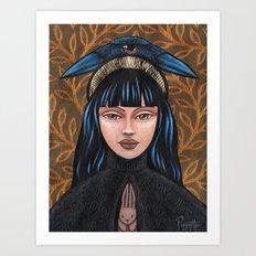 Katikakiw - Raven Art Print
