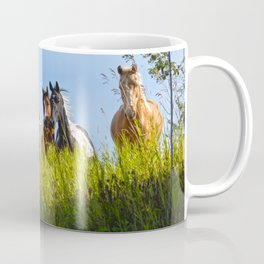 The Herd Greets Us Coffee Mug