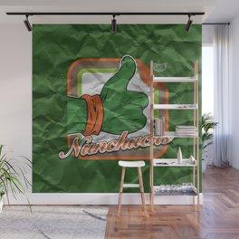 Nunchucks Wall Mural