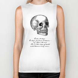 Shakespeare - Hamlet - What Dreams May Come Biker Tank