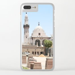 Temple of Luxor, no. 15 Clear iPhone Case