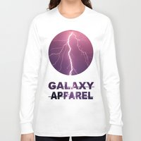 lightning Long Sleeve T-shirts featuring LIGHTNING by GALAXY APPAREL