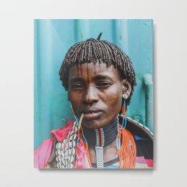 Tmesay Tribeswoman Metal Print