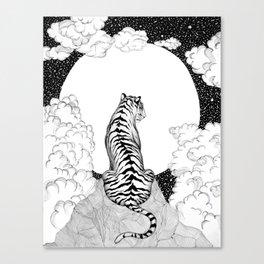 Tiger Moon Canvas Print