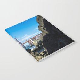 Golden Gate Bridge from Baker Beach Notebook