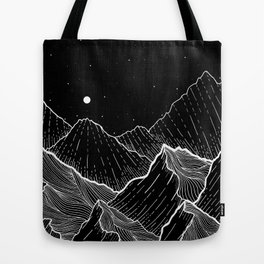 Sea mountains Tote Bag