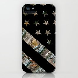 Hunting Camouflage Flag 2 iPhone Case