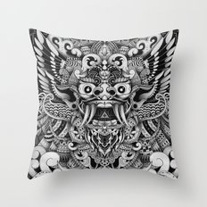 Barong Bali Throw Pillow