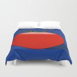The Big Tomato Duvet Cover