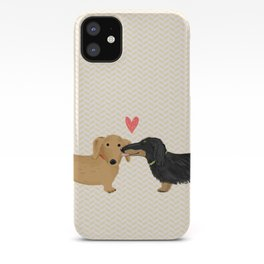 Dachshunds Love iPhone Case