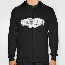 Seattle Seahawks Super Bowl World Champs - White design Hoody