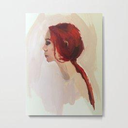 Redhead Metal Print