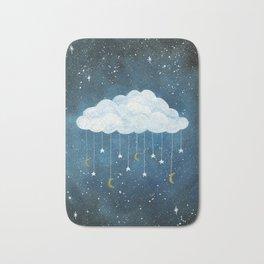 Dreams made of Moon and Stars Bath Mat