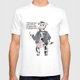 Bossy Bessy Beef Cow T-shirt
