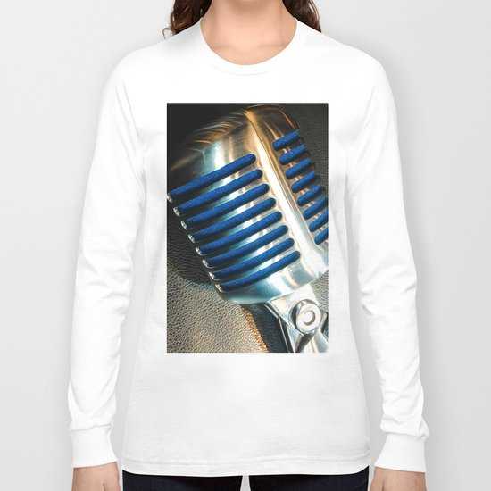 Microphone Long Sleeve T-shirt
