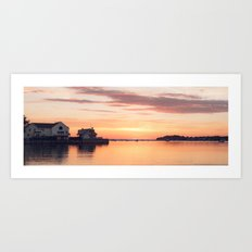 Sunrise Beach - cm2b Photography (4 of 7) Art Print