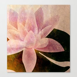 Lotus of my Heart Canvas Print