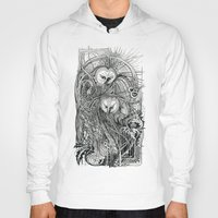 owls Hoodies featuring Owls by Irina Vinnik