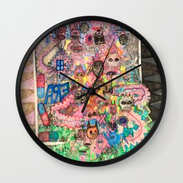 We Are All Aliens Wall Clock