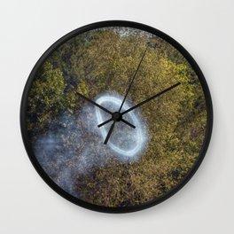 Cannon Smoke Ring Wall Clock