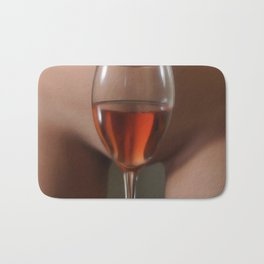 Red Red Wine Bath Mat