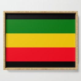 Rastafarian Colors Serving Tray