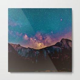 The Majestic Milky Way Metal Print