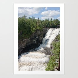 Kakabeka Falls Art Print