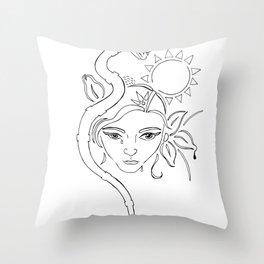 nodapl Throw Pillow